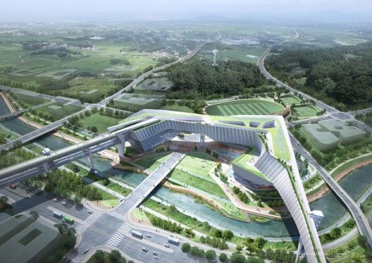 International Competition Winner of Government Building in Sejong City / Tomoon Architects & Engineers - Korea