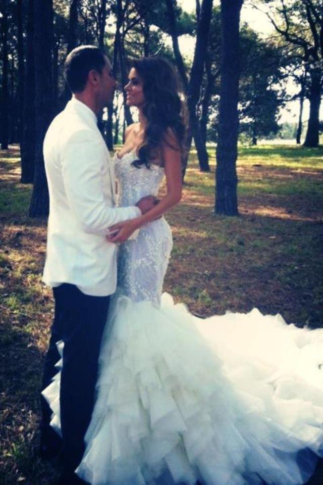 Steven Khalil couture wedding dress