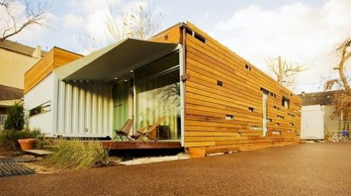 Cordell House by Numen Development | #OrganicSpaMagazine: Idea, Container Houses, Small Spaces Living, Small Living, Shipping Container Homes, Ships Container House, Cordel House, Shipping Containers, Ships Container Home