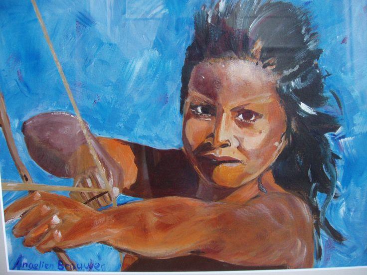 dappere krijger (brave warrior) - who is the artist?