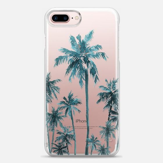 Casetify iPhone 7 Plus Case and iPhone 7 Cases. Other Neom Palms iPhone Covers - Palm Fam by Sharon Juan   Casetify