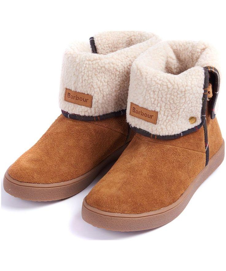 Women's BarbourSirius Foldover Cupsole Boots - Dark Tan