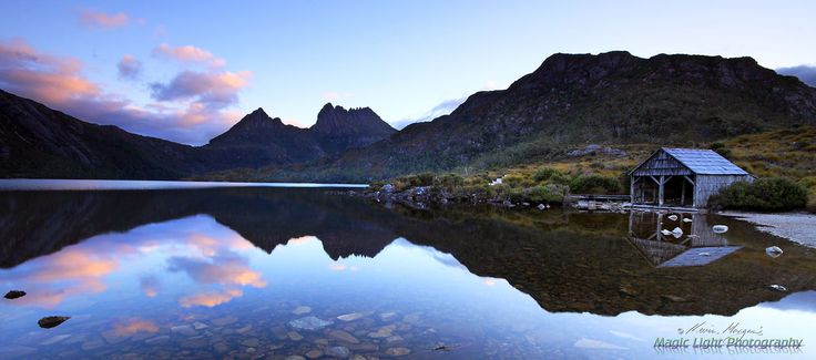 Cradle Mountain Sunset feb panorama by Kevin Morgan on 500px