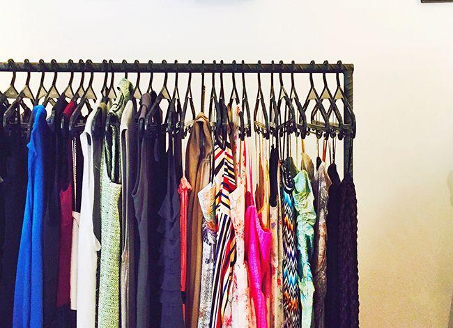 limpeza de guarda-roupa revitalização