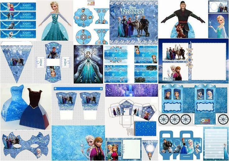 Frozen-Free-Printable-Party-Kit.jpg (768×543)