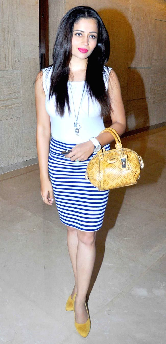 Neha Pendse at the launch of 'Lai Bhari'. #Style #Bollywood #Fashion #Beauty #Marathi