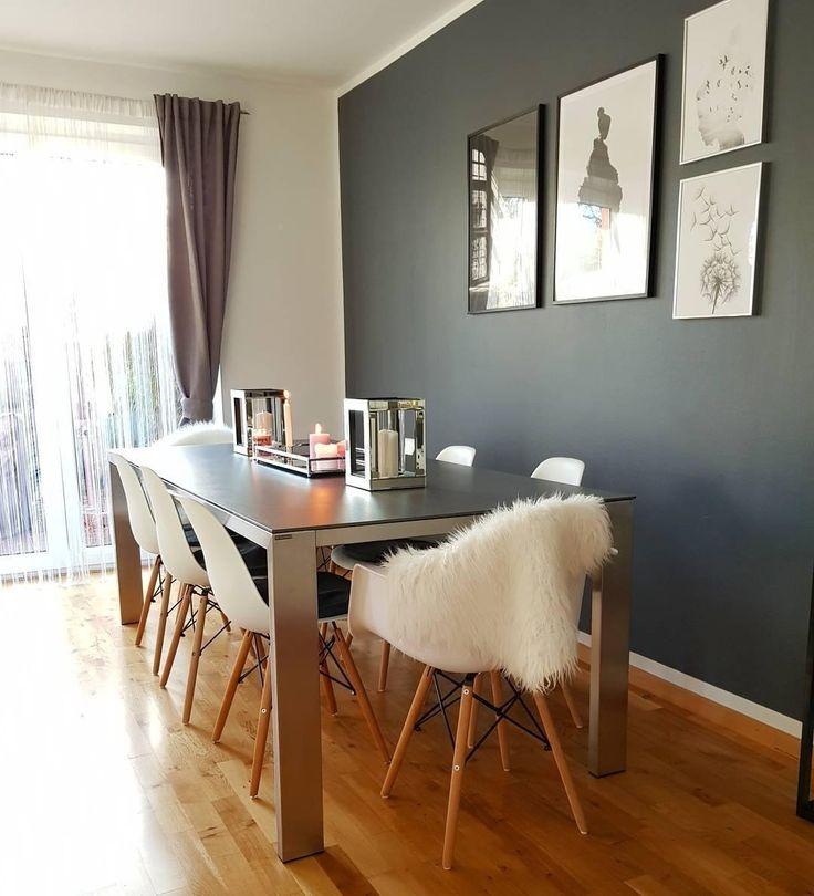Die besten 25+ Schaffell Ideen auf Pinterest Flauschiger teppich - einrichtung schwarz weiss kontraste kreieren