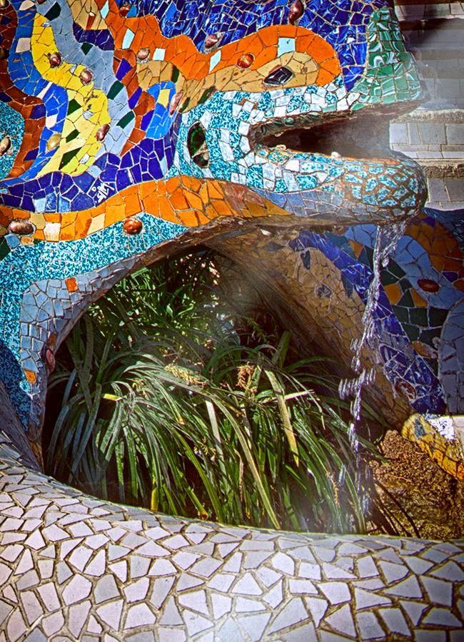 Lovely Day at the #Park #Gaudi #ParcGüell #Barcelona #Catalunya