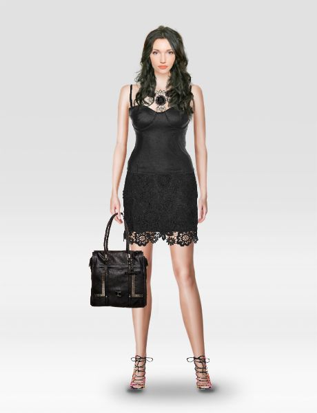 Look from latest collection of: Guess, Monsoon, Steve Madden, Topshop. GLAMSTORM.COM - virtual stylist.