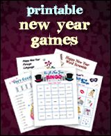 FREE New Years Eve PARTY GAMES-for the kiddos