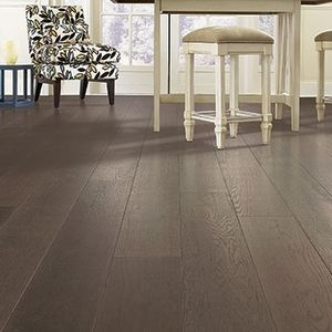Mohawk Treyburne Wood Look Tile Floor In Brown Magnolia