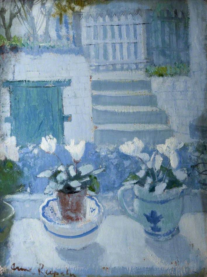 Anne Redpath White Cyclamen