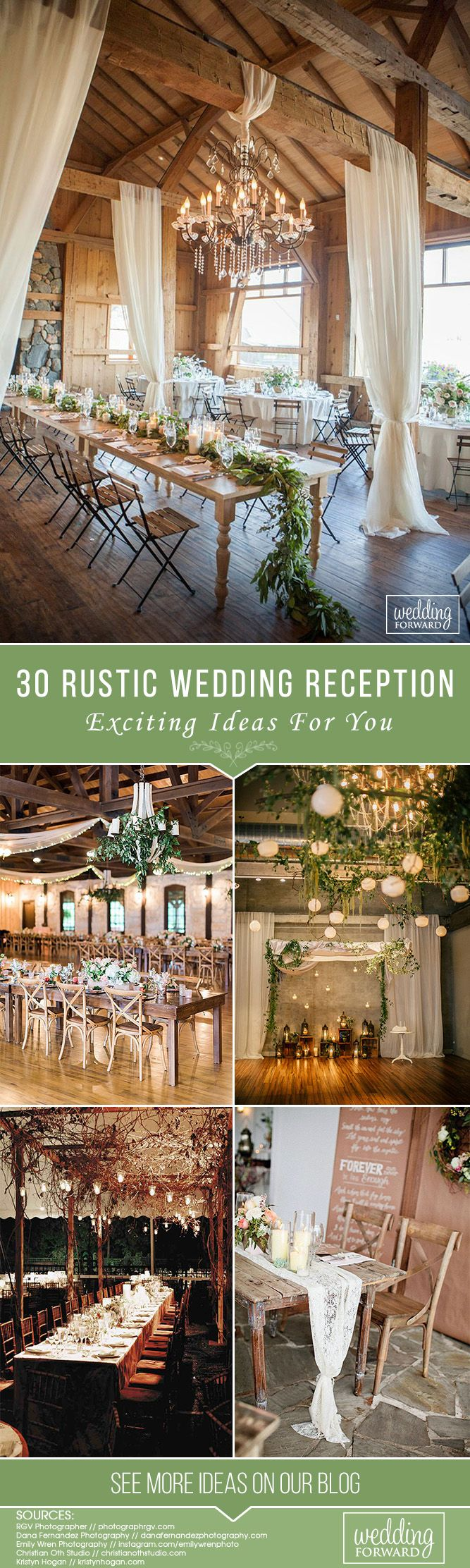 30 Rustic Wedding Reception Exciting Ideas ❤ If you plan a traditional ceremony, it is the very place where you will find really exciting and fresh ideas for your rustic wedding reception. See more: http://www.weddingforward.com/rustic-wedding-reception/ #weddings #decor #weddingdecor #rusticwedding #rusticweddingreception