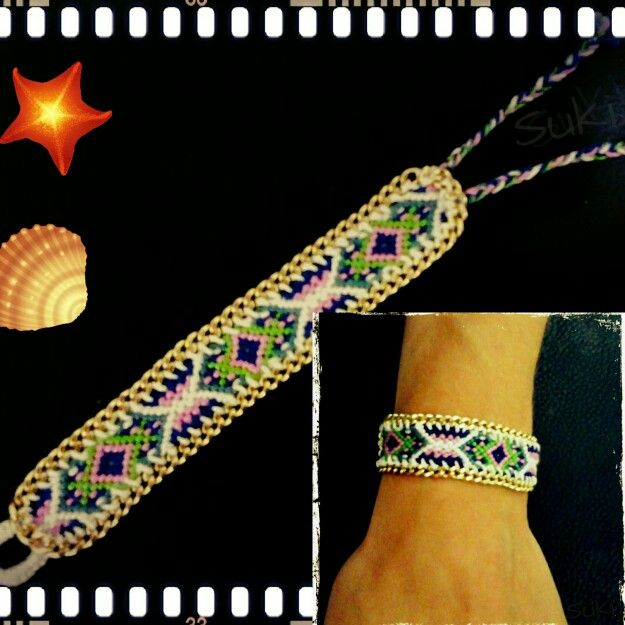 Suki's Handmade Creations #facebook #handmade_macrame_bracelet