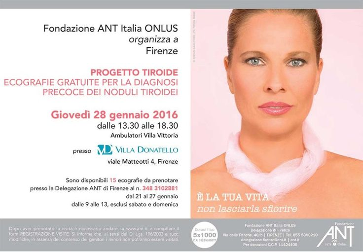 Laura Freddi testimonial della prevenzione oncologica gratuita