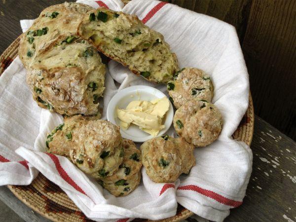 how to make soda bread scones