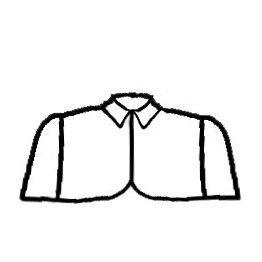 Capelet sewing pattern/naaipatroon van Vera Venus via Burdastyle