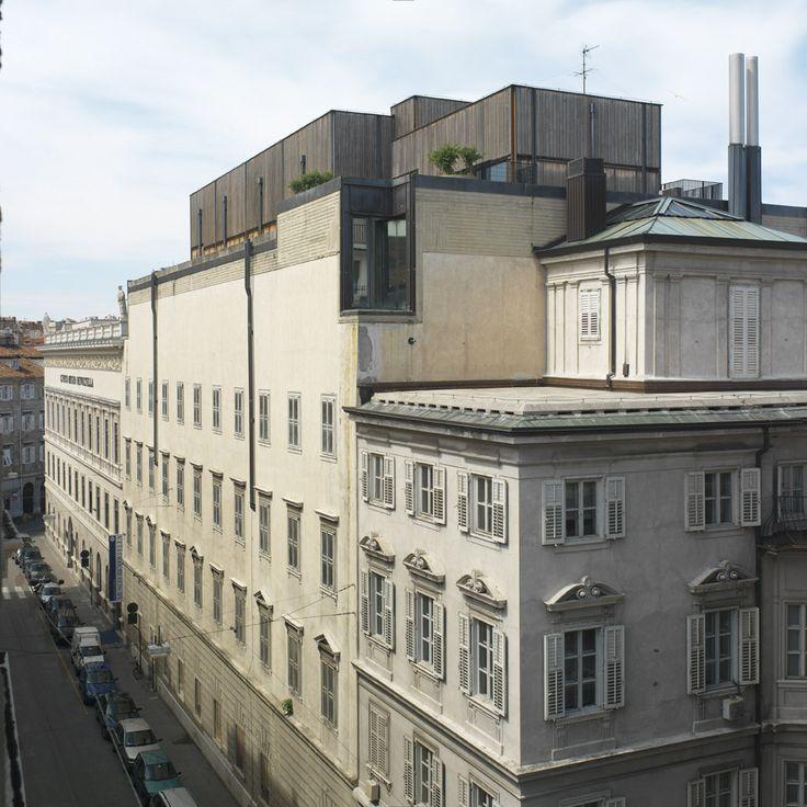 Museo Revoltella, Trieste - Il complesso della galleria d'arte moderna