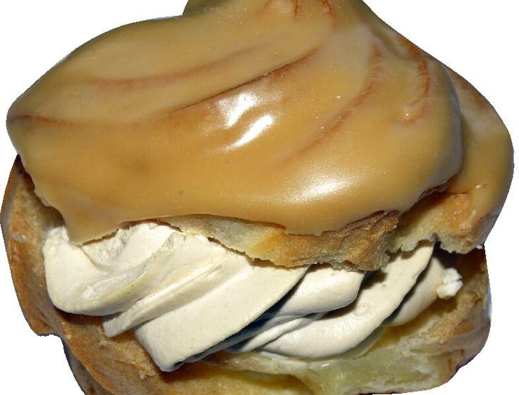 karamelová šlehačka