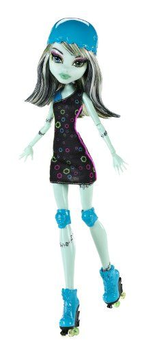 Monster High Roller Maze Frankie Stein Doll coupon  Games Information