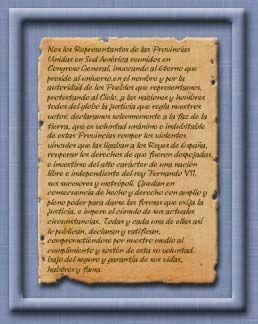 9 de Julio - Acta de la Independencia