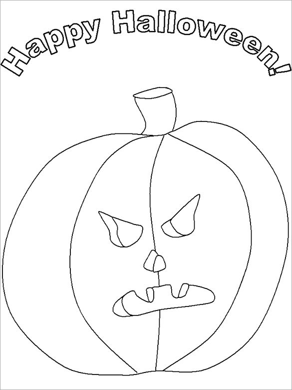 spiderman halloween coloring pages - photo#28