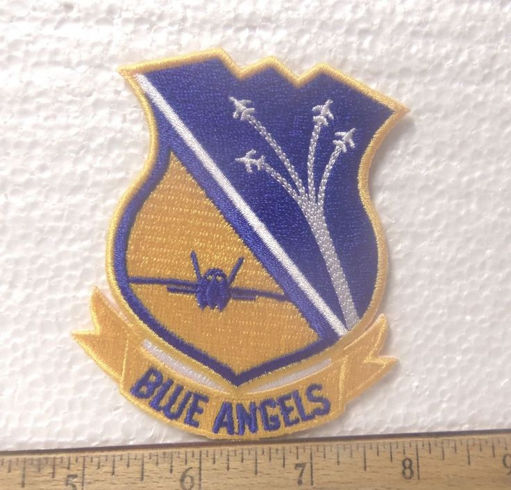 US Navy - Blue Angels Embroidered Patch