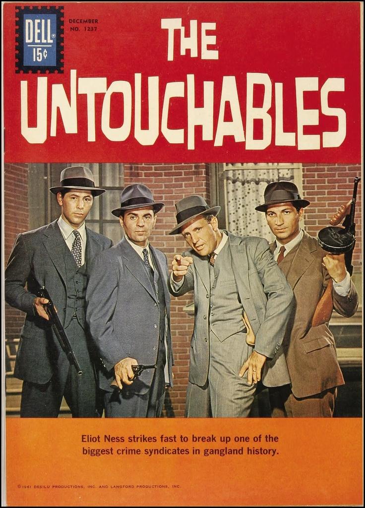 The Untouchables, Four-Color #1237. October 1961