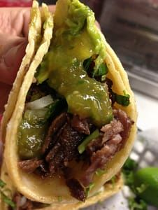 Pacos Tacos is the best tasting steak tacos locate ...