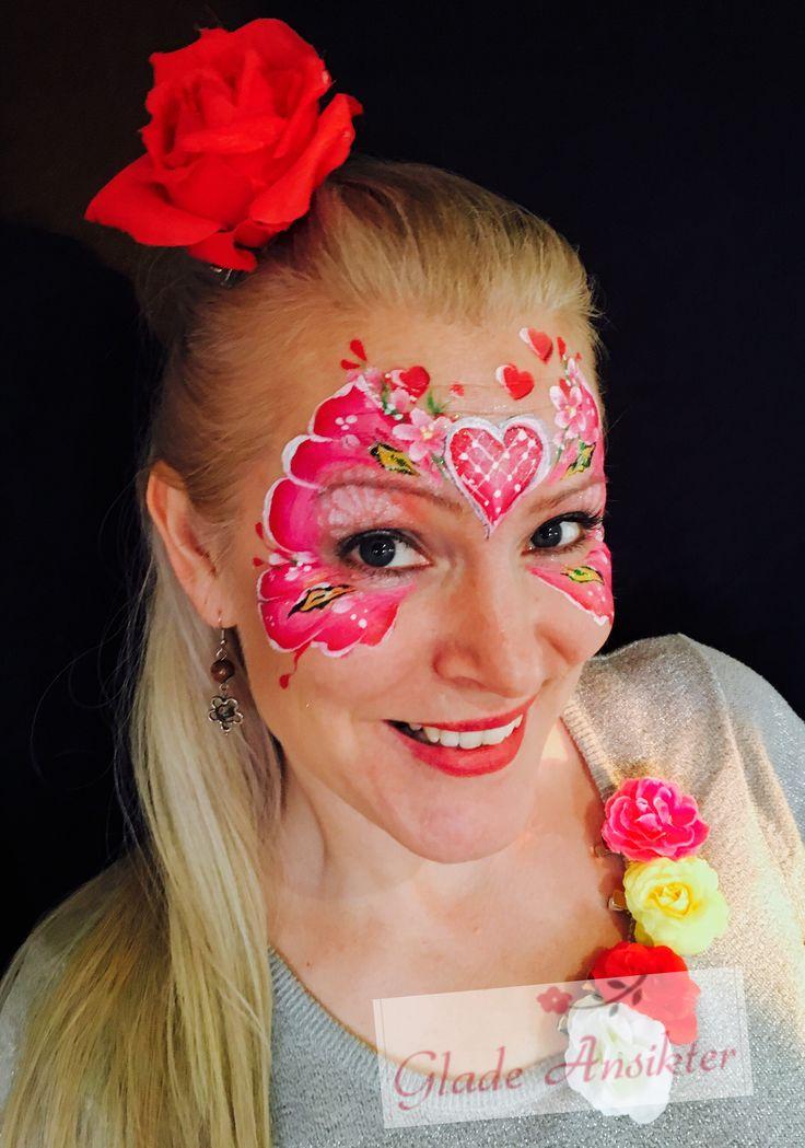 Heart  Facepaint  Valentines