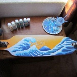 Longboard Art. If I could do this for a living...