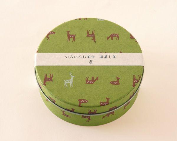 いろいろお茶缶/鹿