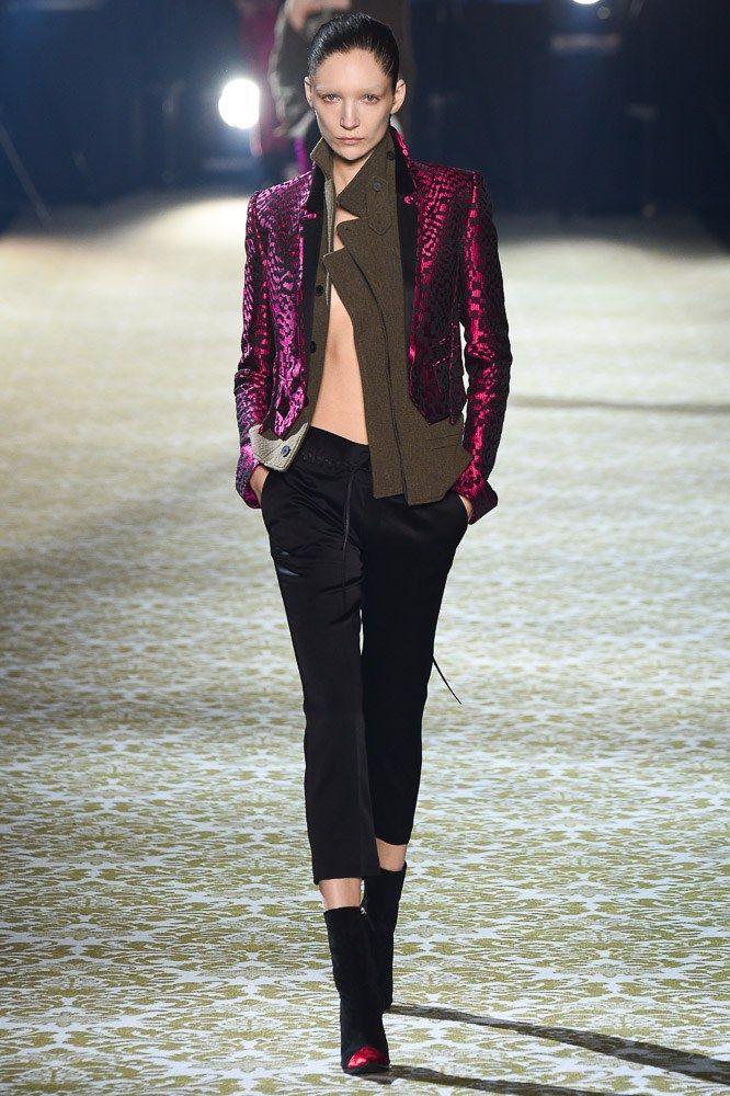 Haider Ackermann Fall 2016 Ready-to-Wear Fashion Show