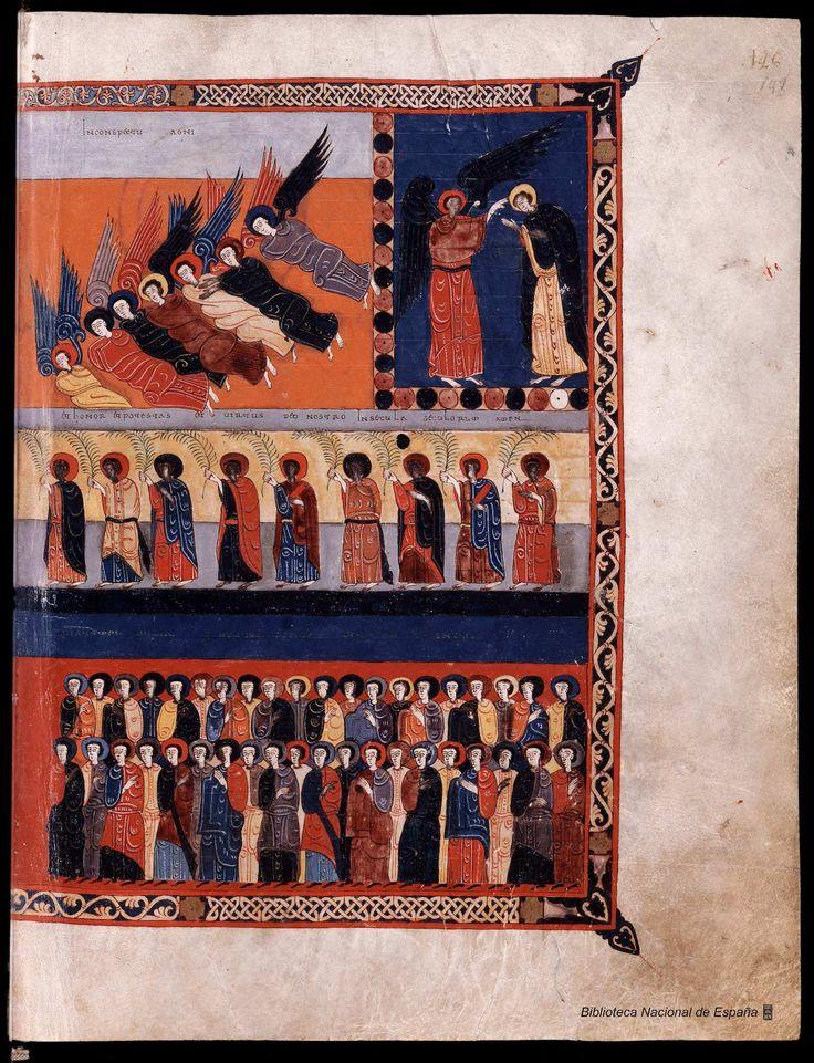 Beato de Liébana. Beato de Liébana , Santo — Manuscrito — 1047 296