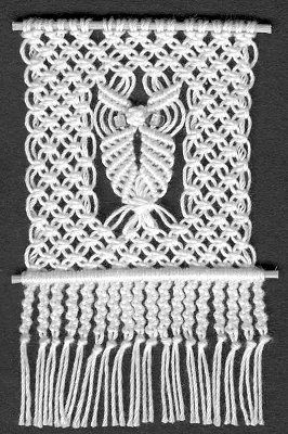 free macrame owl pattern - Yahoo Image Search Results