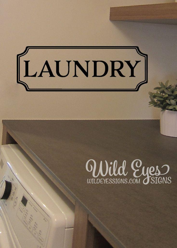 Best 25 Laundry Room Decals Ideas On Pinterest Landry