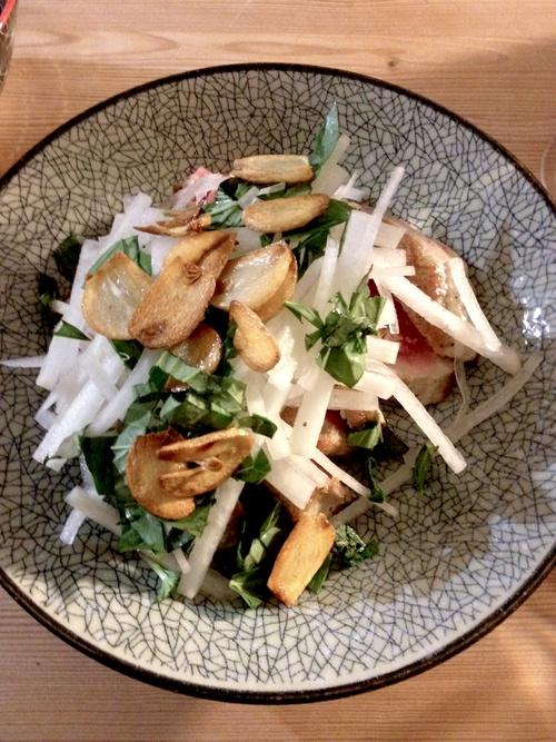 Tuna Tataki Salad :: Anissa's Japanese Birthday Feast http://marcwilliamholmes.com/post/37203807084/anissas-japanese-birthday-feast