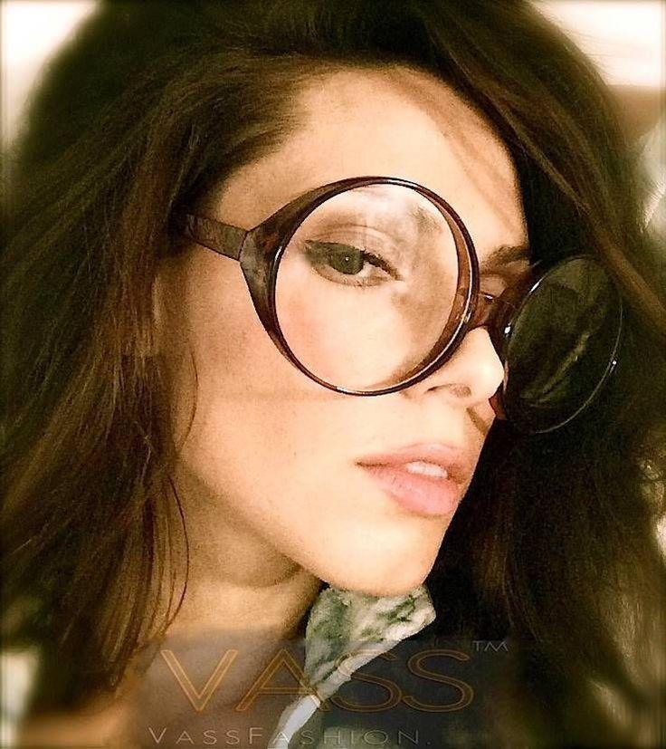 Vintage Oval Round Huge Frame Clear Lens Women Fashion Oversized Big Eye Glasses #fashiondeals #Oval
