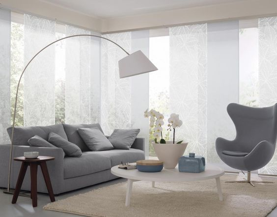 Die besten 25+ Vorhangmaterial Ideen auf Pinterest Feen - moderne wohnzimmer gardinen