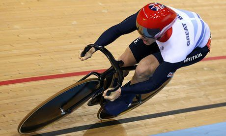 London 2012: Jason Kenny breaks Olympic record in sprint cycling ...