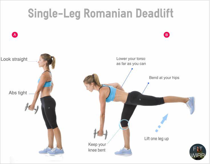 How to Do A Romanian DeadLift (RDL) on One Leg