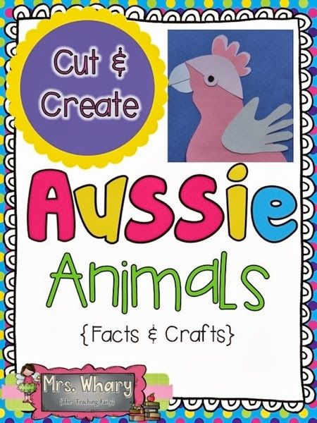 16 Crafts and Facts for K-2......at a GREAT price on TPT......LOADS of interesting animals and facts.....so many uses for this!
