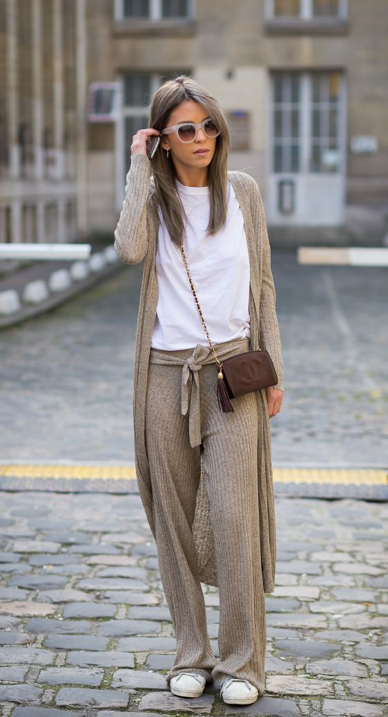 50+ Long Cardigan Outfits Street Style | looks | Fashion ...