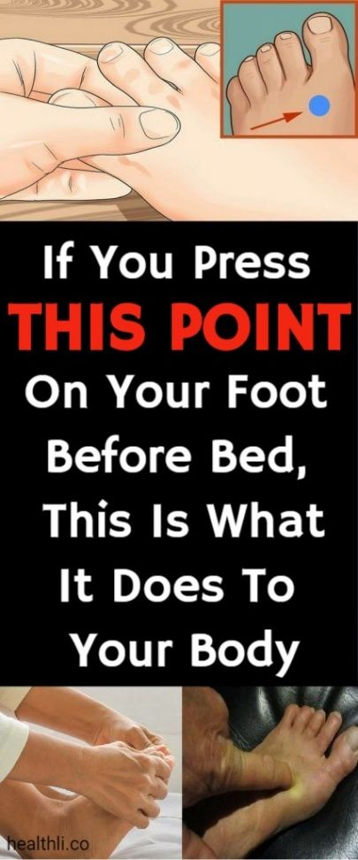 If You Press This Point On Your Foot Before Bed, This Is What It Does To Your Bo… – Must Know !