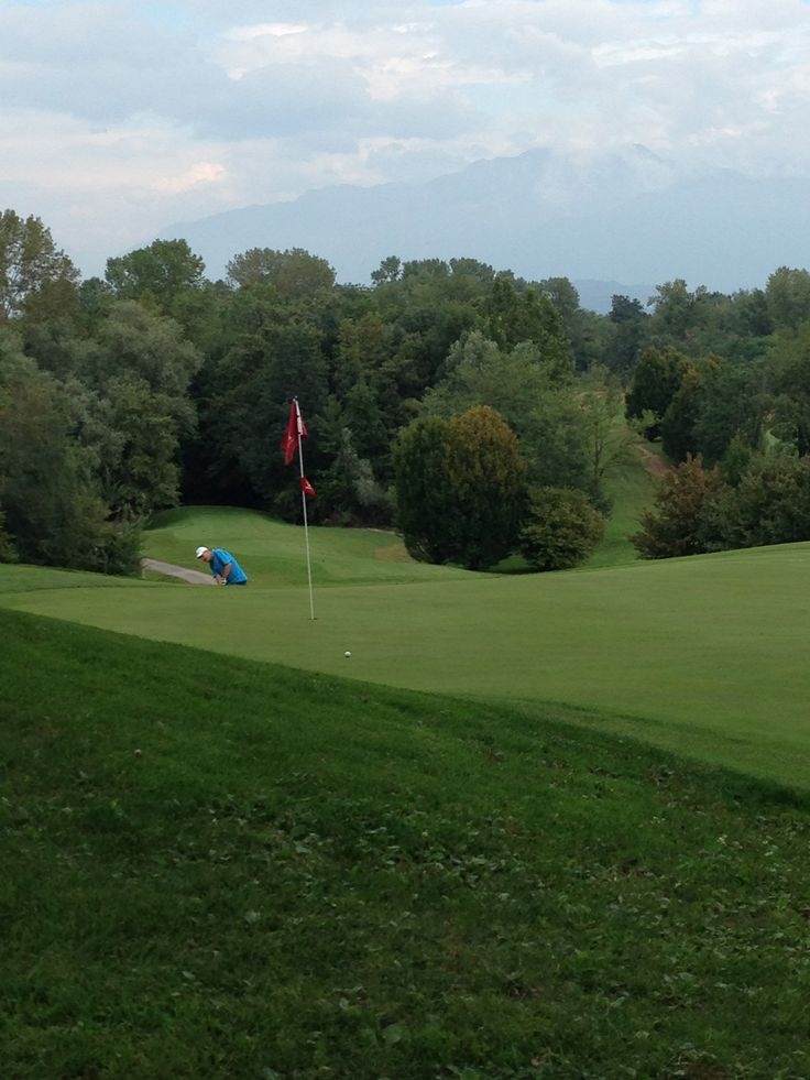 Hole 16. Golf Club Udine, Fagagna - Italy.