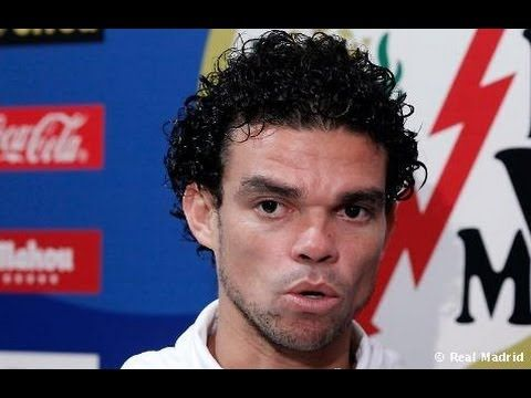 portugal vs germany world cup 2014 PEPE angry interview