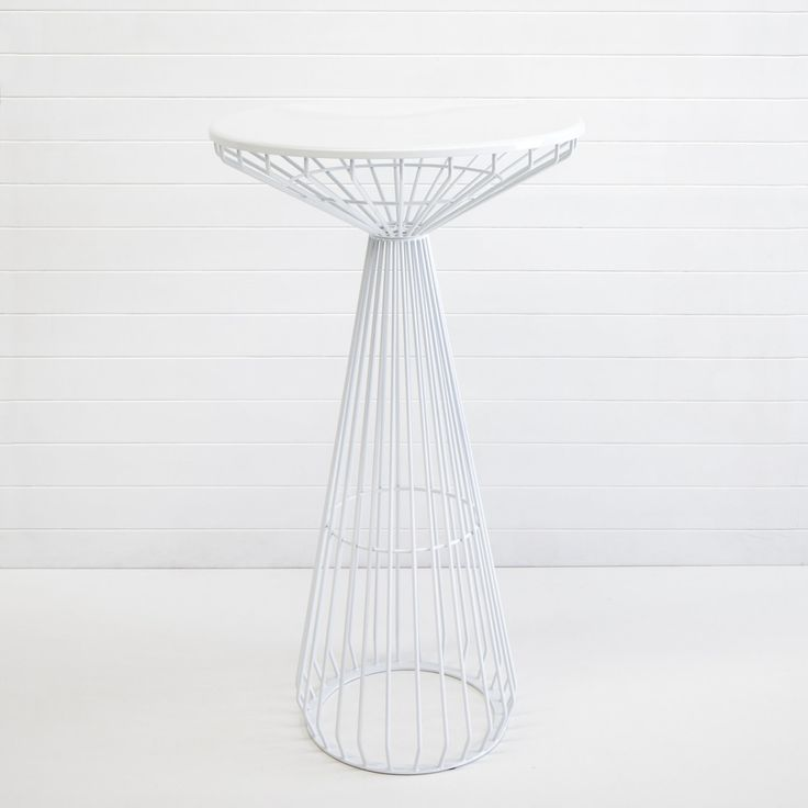 WHITE WIRE SOHO DRY BAR TABLE QTY: 20