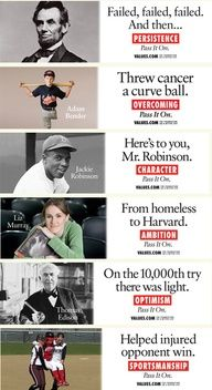FREE Inspiration~  Great billboards from an uplifting website @ values.com