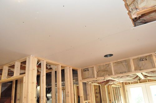 A how-to on installing drywall - includes pictures and a step-by step and a tutorial on ceiling installation as well.