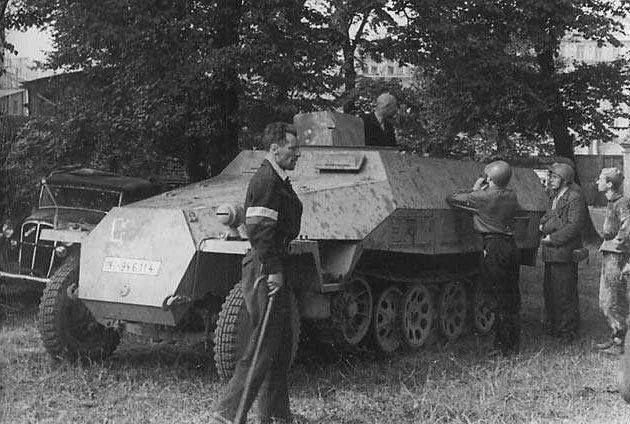 Zdobycie transportera Sdkfz 251/1 Ausf. D